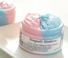 4oz Cotton Candy Whipped Body Cleanser (NEW)