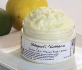 4oz Summer Citrus Whipped Body Cleanser (NEW)