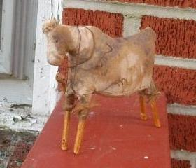 Primitive Cow Doll - Shelf Sitter or Tuck - For your Hutch, Cupboard or Mantel