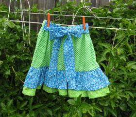 Ruffle Skirt, Child Size 6