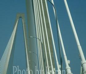 Ravenel Bridge 5 x 7 Original Photograph, other sizes available