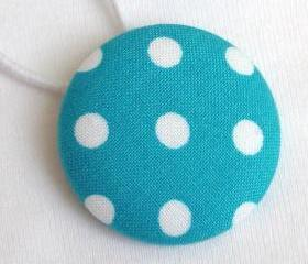 XL Ponytail Holder, Polka Dots