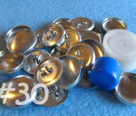 Covered Button Kit - 3/4 inch - Size 30