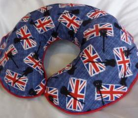 Punk Rock Boppy Nursing Pillow Cover London Calling