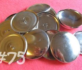 12 Covered Buttons - 1 7/8 inches - Size 75