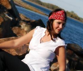 Wide Stretch Womens/Teens Headband, Bandana Print, Hairband- Red Bandana