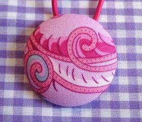 XLPonytail Holder, Purple and Pink