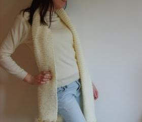 Luxury Handmade Wool Scarf