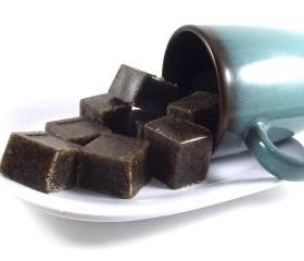 Coffee Body Scrub Soap Cubes Sugar Single Use 8oz Cellulite Reducer Skin Toner All Natural