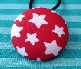 XL Ponytail Holder, 4th of July