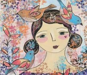 Little Whispers Original Painting