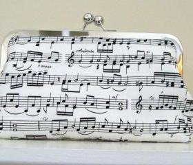 CLUTCH PURSE Sheet music print 