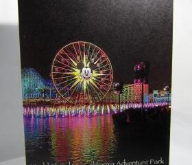Mickey's Fun Wheel Greeting Card - World of Color, California Adventure Park