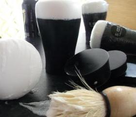 Irish Stout Shaving Soap. 