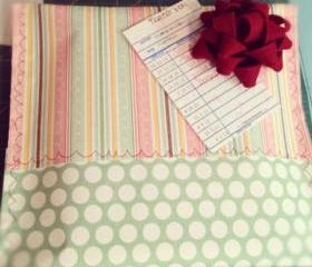Gift Packaging for Burp Cloths