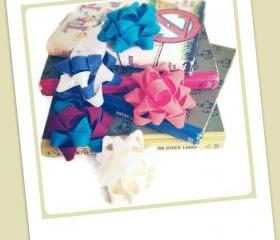3 Felt Gift Bows of your choice