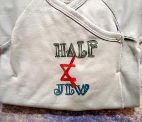 Unisex Baby Shirt With Jewish Saying