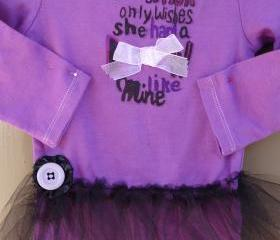 SPRING SALE CLEARANCE Lady Gaga Onesie Rocker Style With Attached Tu Tu