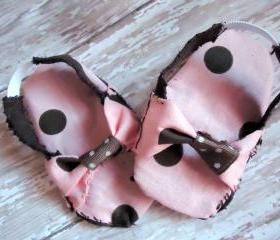 Slingback Baby Sandals For NEWBORN Girl