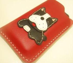 Bags And Purses, Purse, Leather, leather, leatherprince, international, women, purse, pouch, gift, clutch, wallet, hippo, grey, purple, handmade