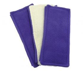 3 Swiffer Sweeper pads - Double Sided - purple