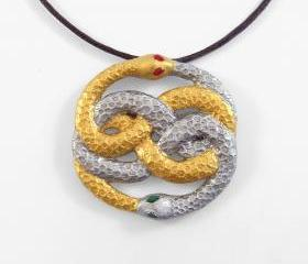 Neverending Story Auryn Pendant and Necklace