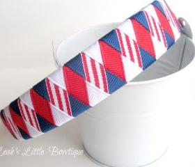 Patriotic Woven Headband