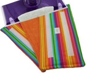 1 Wet Jet pad Reusable - Rainbow Stripes pattern