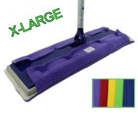5 Swiffer Sweeper X-large pads - Professional size - Double Sided - Pick your colors