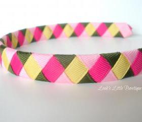 Girls Woven Headband