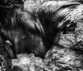 Abstract Photo black & white fine art print flowing motion 8x12&quot; print