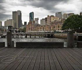 Sydney Photo, Sydney Harbour The Rocks, Travel Photo, 12x18""