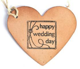 100 Wedding Wish Tags. / Wedding wish tree tags / happiness / best wishes / hang tags / labels / wedding decor / heart / kraft