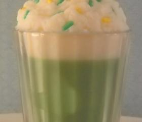 Votive Milkshake Candle Sweet Honey Dew Scented Made with All Natural Soy Wax