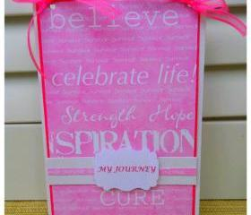 Breast Cancer Survivor Journey Book