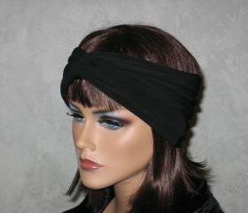 Made to Order Bandeau Turban -Black