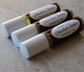 Chocolate Amber Perfume Oil