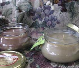 2ea Highly Scented Candles ToDieFor Chocolate and Coffee 6oz Tureen Jar