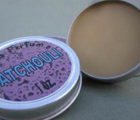 Patchouli Solid Perfume Tin - All Natural