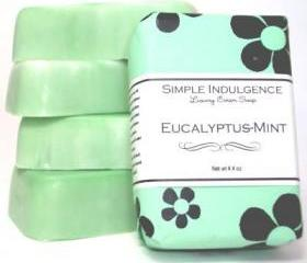 Eucalyptus-Mint Soap, Shea, Simple Indulgence