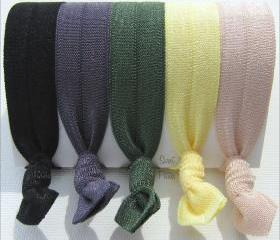 Hair Ties - Everyday Collection - Set of 5 - Mane Accessory