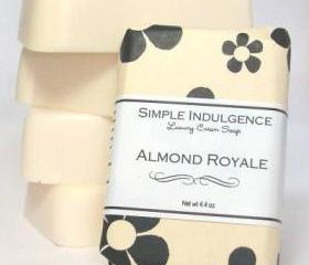 Almond Royale Soap, Shea Simple Indulgence, Creamy lather