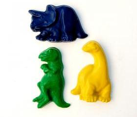 Dinosaur Party Favors - Package of 12 Dino Shaped Crayons