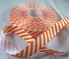 Striped Grograin Ribbon- 3 Yards