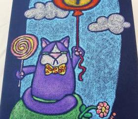 children's canvas art - mr wooger