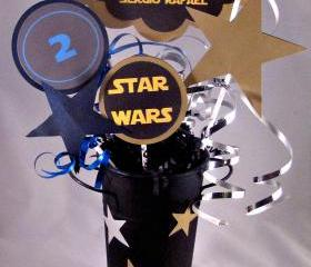 Star Wars Birthday Center Piece