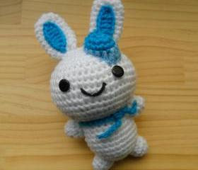 Amigurumi doll - white bunny