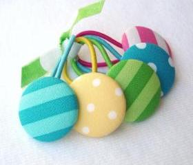 Candyland Ponytail Buttons 