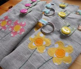 Flower Gadget Cosy (for Ipod/Iphone, small camera etc)