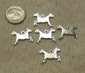 Mod Dashing Horse Charms
